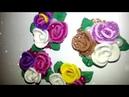 Цветы на магните из фоамирана