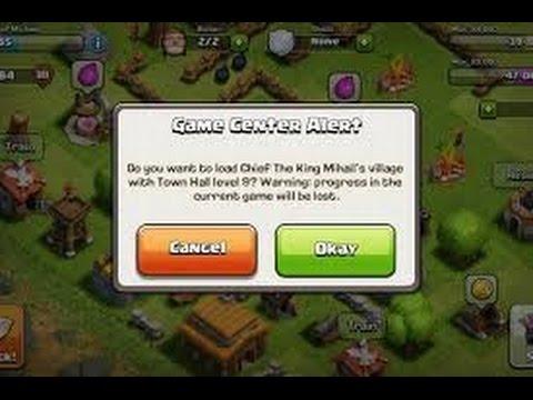 Как создать второй аккаунт в игре Clash of Clans.
