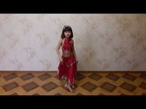 Мисс Риана. Красивый восточный танец.