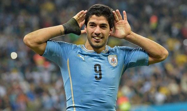 Луис Суарес отбыл дисквалификацию за укус и вернется в сборную Уругвая.