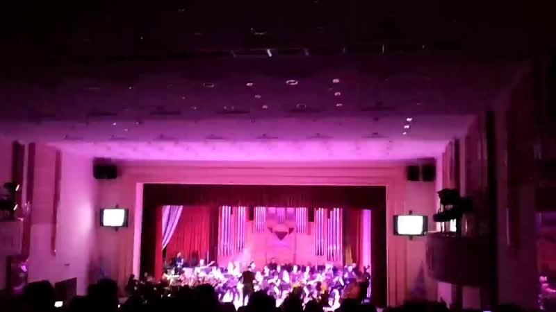 Концерт академического симфонического оркестра «От классики до рока».