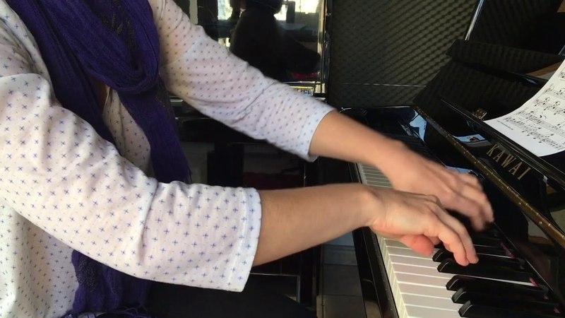Геллер Порхающие листья этюд Heller Fluttering leaves FAST piano