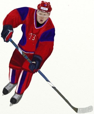 Хоккеист детские картинки