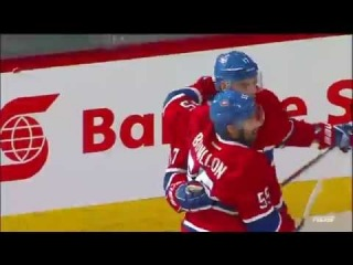 Rene Bourque's Hat Trick. All Goals. Game #5 ECF - New York 4 Montreal 7. May 27th 2014. (HD)