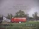 6 9 2003 Storm Chasers Hit By O'Neill Nebraska Tornado Stock Video