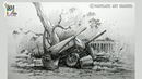 Learn Drawing and Shading with Composition Sketching Objects Still life Art