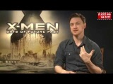 X-Men Days of Future Past & Wanted 2 Interview - James McAvoy