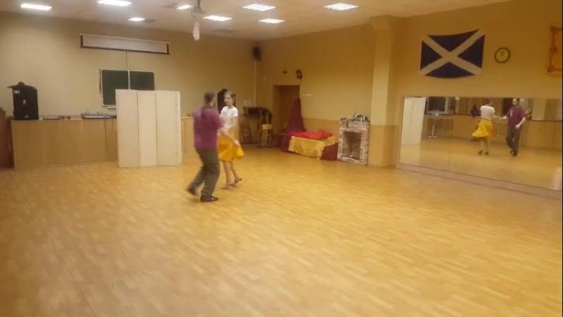 Кросс-степ вальс для VKTalents_ТанцыТНТ