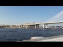 На ракете по финскому заливу от Петергофа до Эрмитажа стадион КРЕСТОВСКИЙ