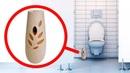 Если вы Найдете это в Туалете тут же Звоните в Полицию