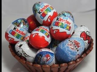 1 of 12 Kinder Surprise Eggs открываем Киндер сюрприз пираты карибского моря
