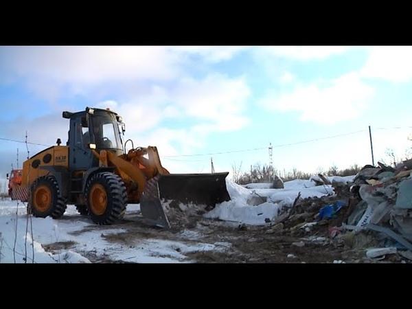 Как «Спецавтохозяйство» собирается бороться с бесхозным мусором