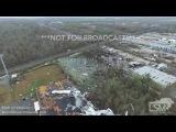 2-7-17 East New Orleans, LA Tornado Damage Aerials