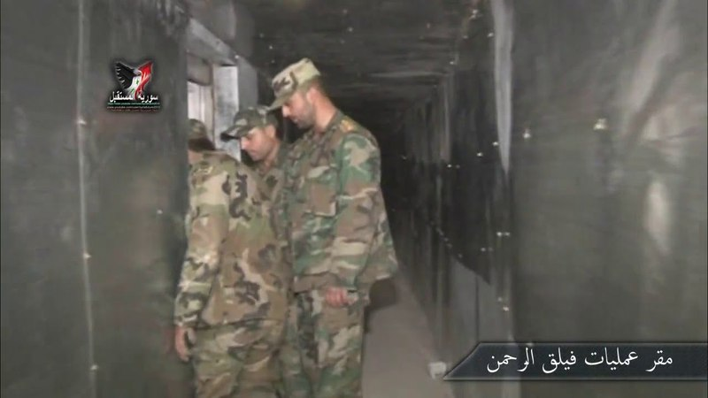 Из штаб-квартиры операций лидера террориста Рахмана Абдула Насера аль-Шамира в Эйн-Тирма