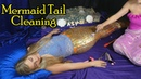 An ASMR Mermaid Tail Cleaning Deep Sea Spa Treatment ♥ Tapping, Brushing, Scratching
