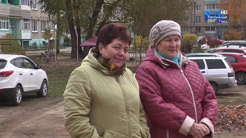 Открытие спорт площадки в городе Камешково