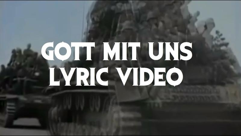 Sabaton Gott Mit Uns Lyric Video