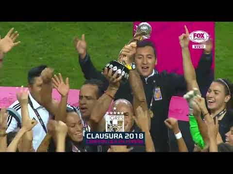 Tigres Campeon! Asi levantaron el Titulo de la Liga MX Femenil 2018