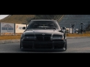 BMW E36 Blacker than Black. E36ORDER Perfect Stance
