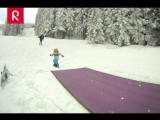 Вот так выглядят крутые и полезные каникулы малышей ;) Немного сноуборда, немного скейта, немного серфинга. А какие увлечения у