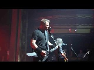 Metallica Moth Into Flame (MetOnTour - Webster Hall - 2016)