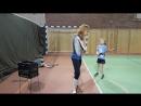 Техника выполнения удара справа в большом теннисе