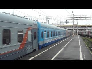 ЧС6 004 с поездом Москва Мурманск