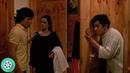 Лорелай по ошибке делает укол не Джеки а Алану и они уносят три части доспехов в монастырь