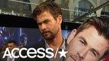 'Avengers Infinity War' Chris Hemsworth Talks Surfing Injury &amp That Epic Jump Rope Video Access