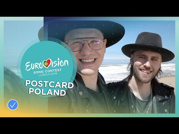 Postcard of Gromee feat Lukas Meijer from Poland Eurovision 2018