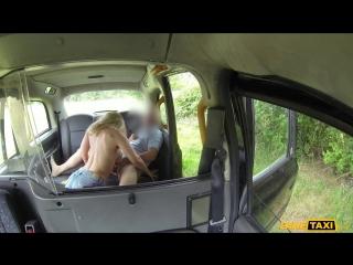 Faketaxi karlie simon - sexy blonde bent over and fucked