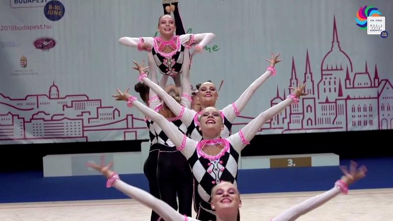 OVO Junior Team (FIN) | AGG WORLD CHAMPIONSHIPS 2018 - BUDAPEST (HUN) | JUNIOR AGG | FINAL