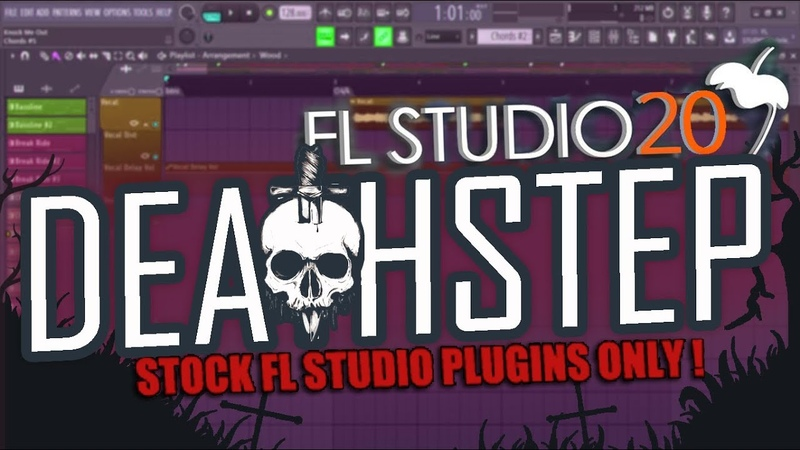 HOW TO MAKE DEATHSTEP FL STUDIO STOCK PLUGINS ONLY