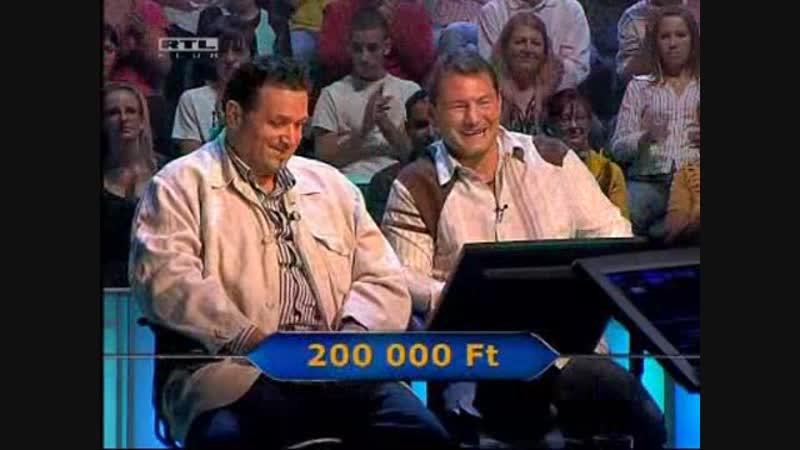 Legyen Ön is milliomos 10 12 2009 Kiderült Fábry Sándor nagy titka