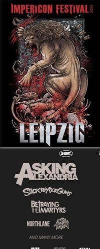 Поездка на Impericon Festival 2014 Leipzig