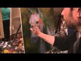 Видеоурок Сахарова Как научиться рисовать лошадь живопись для начинающих, уроки рисования