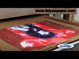 Process for Custom Sublimation Printing with Sublimation Paper Ink and Inkjet Printer