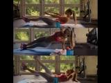 Amanda Lee сочная фитнес модель и ее большая упругая накачанная жопа и большие сиськи, секс фитоняшка спортсменка не порно
