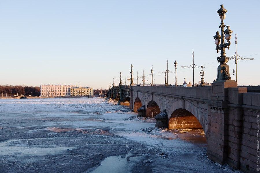 Санкт-Петербург Троицкий мост