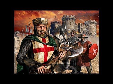 StrongHold Crusader europe сражение 1 х 1