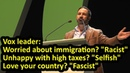 Vox's Santiago Abascal: the left uses labels to silence and shame opponents, English subtitles - YouTube