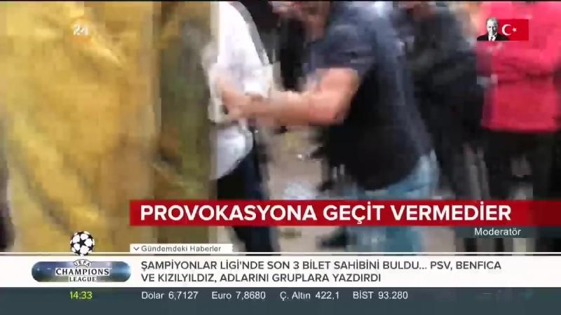 Kinlerini Almanyada dikilen Erdoğan heykeline kustular.mp4