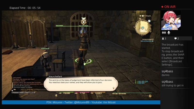 Coming to Ishgard - FFXIV: Heavensward 3.0 Story (Part 1) - Stream Footage