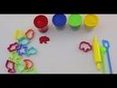 Учим цвета с пластилином плей до на английском языке для детей