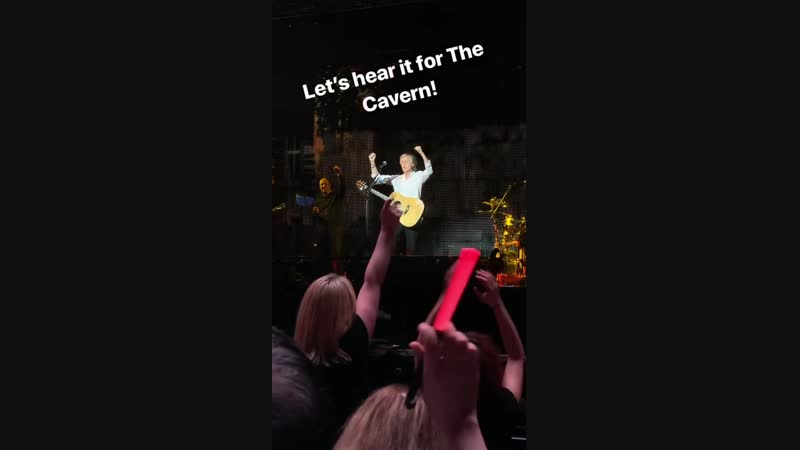 Let's hear it for the Cavern!