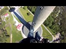 Tallinn TV Tower RAPPELLING 175m Abseiling Спуск с телебашни