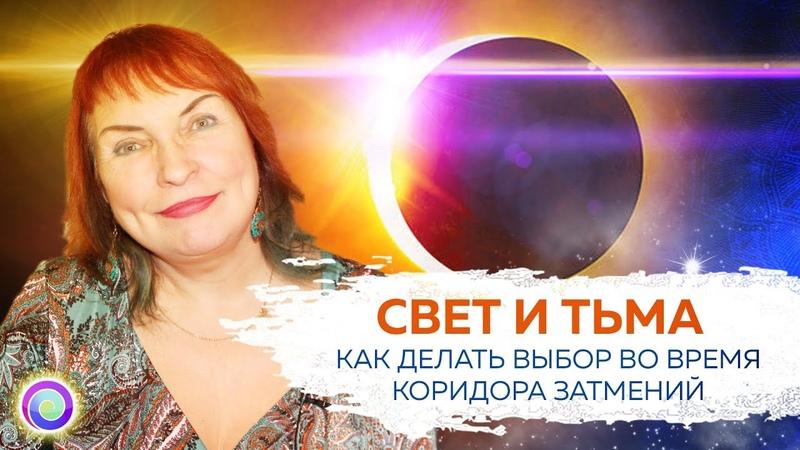 СВЕТ И ТЬМА Как делать выбор во время коридора затмений — Мария Дивеева