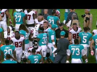 #PreSesonNFL.Week.01.#Falcons.at.#Dolphins.#CondensedNFL.#NFLN.2017.