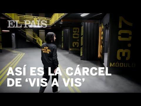 Najwa Nimri enseña la cárcel de Vis a Vis