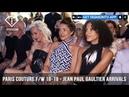Naomi Campbell Jean Paul Gaultier Arrivals Paris Haute Couture Fall/Winter 2018-19 | FashionTV | FTV